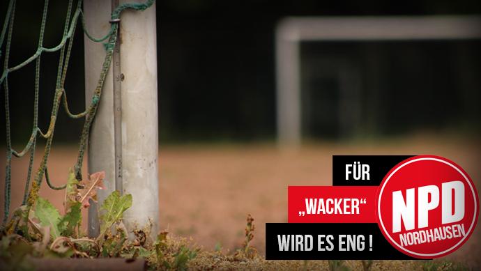 """Für """"Wacker"""" wird es eng !"""