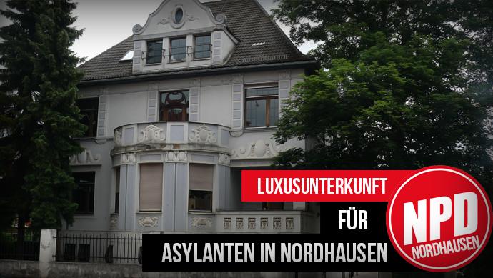 Luxusunterkunft für Asylanten in Nordhausen
