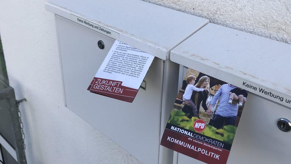 Kommunalwahlkampf in Hessen